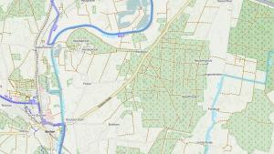 Radwege Karte